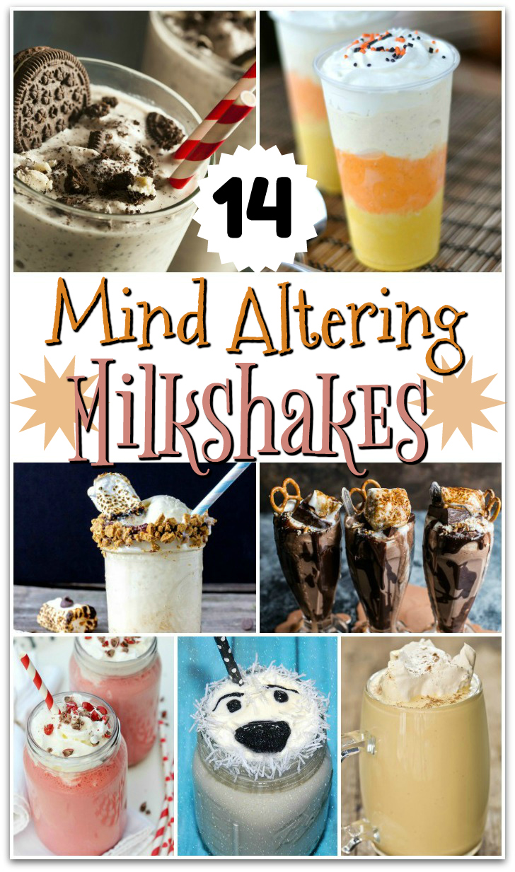 Craving a milkshake? Here are our picks for 14 of The Best Homemade Milkshake Recipes online. These milkshakes will have you screaming Man, That Looks Good!