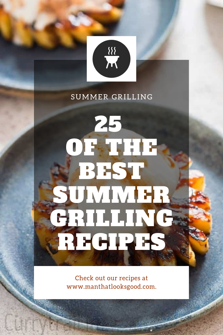 Summer is officially here and it's time to fire up the grill. If you are looking for some summer grilling inspiration for your next BBQ, look no further. This summer grilling round up has everything from main dishes, to side dishes and desserts. We even threw in a few salad, vegetarian and vegan options for good measure.