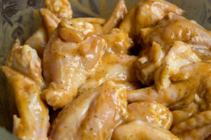 Tangy Honey Mustard Wings