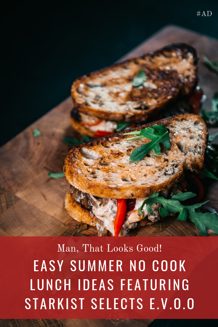 When the temps climb above 90° turning on the stove to cook is awful. Check out these Easy No Cook Lunch Ideas Featuring StarKist Selects E.V.O.O