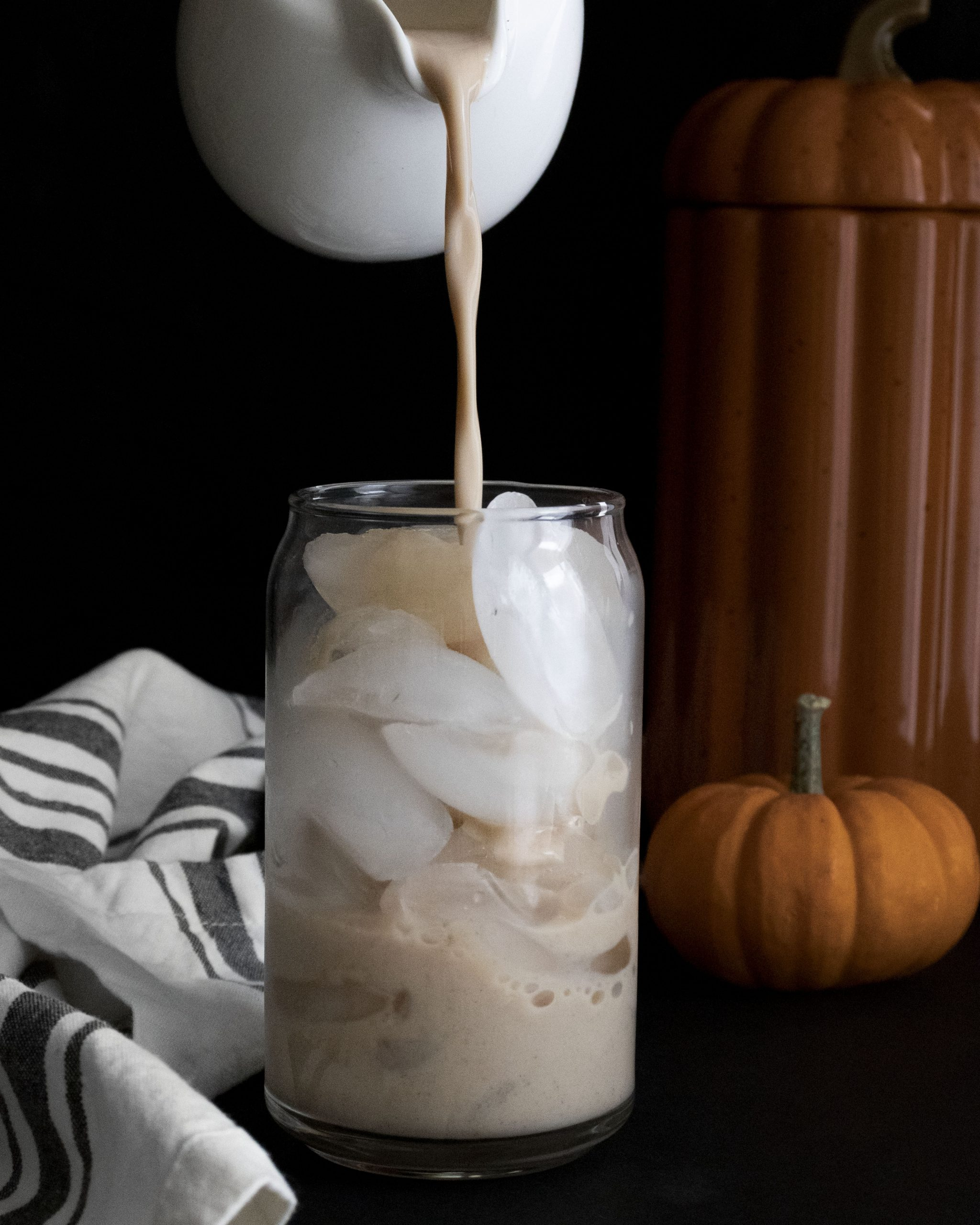 It's officially fall and if you're craving a pumpkin coffee, check out this easy Whipped Pumpkin Coffee Recipe with hot and cold directions. #whippedcoffee #pumpkincoffee #pumpkinlatte #whippedcoffee #whippedlatte